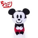 復古風款【日本正版】米奇 90周年紀念 排排坐玩偶 Chokkorisan 玩偶 拍照玩偶 Mickey 迪士尼 - 212932