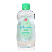 Johnson's 嬰兒潤膚油 (蘆薈配方) 500ml 寶寶乳液/保濕/呵護/嬌生【DDBS】
