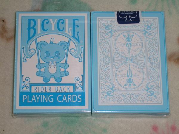【USPCC撲克】Bicycle bear blue deck