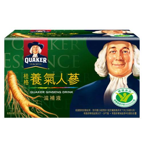 QUAKER桂格 養氣人蔘滋補液60mlx6瓶/盒