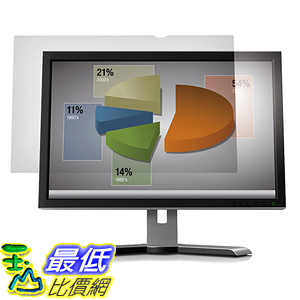 [美國直購] 3M AG19.0W Anti-Glare Filter 螢幕防眩光片(非防窺片) Desktop LCD Monitor 19吋 408 mm x 255 mm