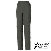 PolarStar 女防水保暖長褲『鐵灰』P16410 休閒褲│釣魚褲│登山褲│耐磨褲