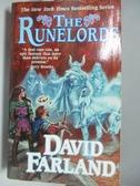 【書寶二手書T4/原文小說_ALU】The Runelords_Farland, David