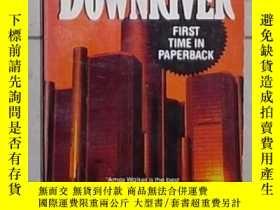 二手書博民逛書店英文原版罕見Downriver by Loren D. Estl