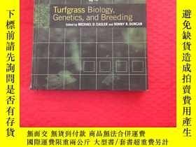 二手書博民逛書店Turfgass罕見Biology Genetics and B