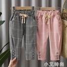 女童休閒褲1-3歲寶寶春秋褲子外穿2021新款韓版網紅洋氣4兒童春裝 小艾新品