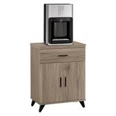 【森可家居】珂琪2 尺收納櫃8ZX590 5 餐櫃置物櫃木紋 北歐工業風