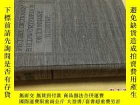 二手書博民逛書店Picture罕見Dictionary Bildworterbuch Dictionnaire Illustre奇