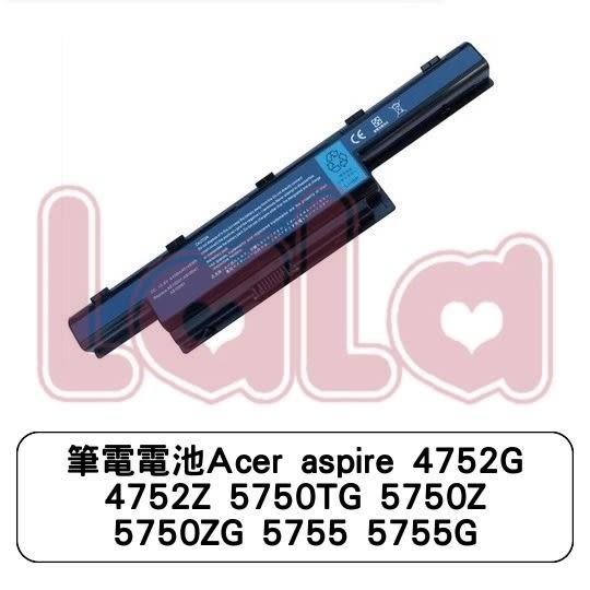 筆電電池Acer aspire 4752G 4752Z 5750TG 5750Z 5750ZG 5755 5755G