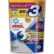 Ariel 日本進口三合一3D洗衣膠囊(洗衣球)52顆