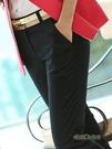 西褲女職業2020新款加厚寬鬆休閒西裝褲黑色工作褲正裝直筒長褲子「時尚彩紅屋」