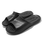 Nike 拖鞋 Victori One Shower Slide 黑 白 排水 女鞋 洞洞 【ACS】 CZ7836-001