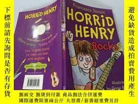 二手書博民逛書店Horrid罕見Henry:Rocks 可怕的亨利:石頭Y200392