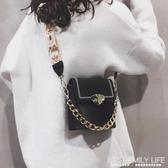小包包女新款時尚錬條手提洋氣水桶包百搭ins網紅單肩斜背包ATF 艾瑞斯生活居家