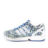 Adidas ZX Flux Weave [B34474] 男鞋 運動 慢跑 休閒 藍 白 愛迪達
