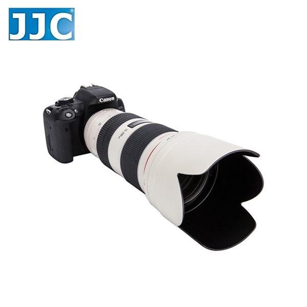 又敗家@白色JJC副廠Canon遮光罩ET-87遮光罩可反裝EF 70-200mm f/2.8L IS USM II小白遮陽罩ET87遮光罩