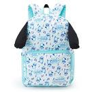 Sanrio 帕恰狗元氣奔跑系列俏皮垂耳造型帆布後背包 ★funbox★_821861N