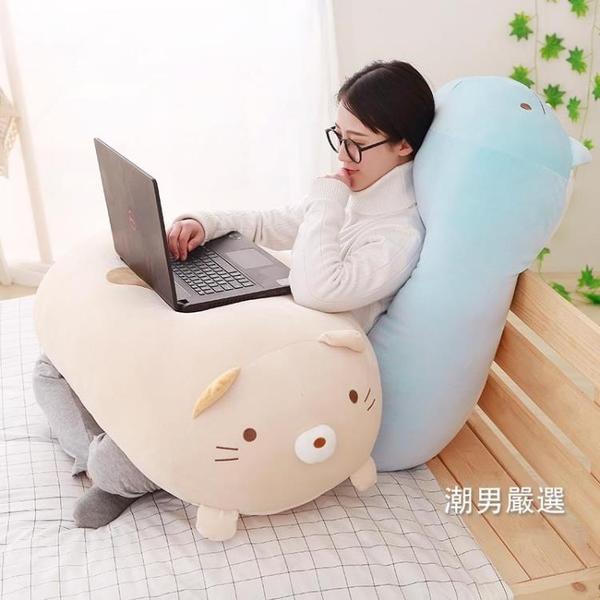 公仔 抱枕墻角玩偶軟體公仔女朋友床上睡覺長條枕頭可愛腰靠墊