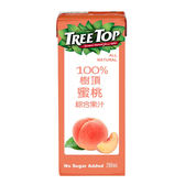 樹頂100%蜜桃綜合果汁200ml* 6【愛買】