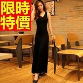 洋裝-長袖經典魅力新款韓版連身裙61a20[巴黎精品]