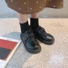 原宿小皮鞋女學生韓版百搭ulzzang大頭鞋復古日繫軟妹娃娃單鞋潮 歐韓流行館