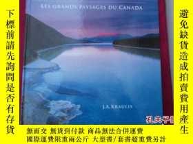 二手書博民逛書店Grand罕見Landscapes of Canada  Les grands Paysages Du Canad