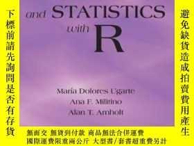 二手書博民逛書店Probability罕見And Statistics With R, Second Edition-概率統計與R
