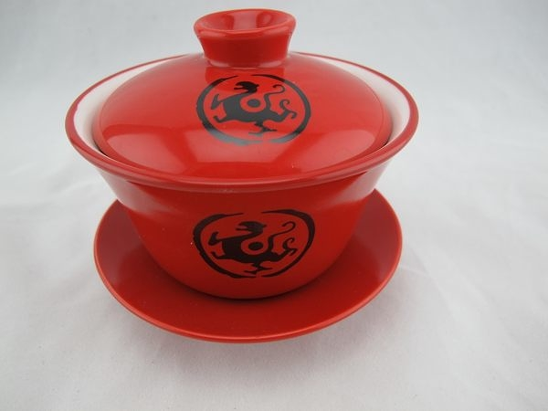 【OH11】全祥茶莊-紅蓋碗180毫升