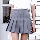 A字裙百褶裙短裙女夏高腰半身裙女蓬蓬裙子新款半裙格子裙春 【Ifashion·全店免運】