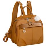 Kanana卡娜娜 多功能尼龍小型手提後背兩用包(橙色)241008-15