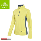 【Ratops 瑞多仕 女Thermolite暖衣(協邊配)《萊姆綠/藍綠》】DB6011/中層衣/保暖長袖/休閒長袖