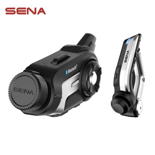 美國《SENA》10C 重機藍牙攝影及通訊系統 + 無線車把遙控器
