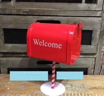 [協貿國際]   信箱擺設道具咖啡廳酒吧櫃子創意擺件  (1入)
