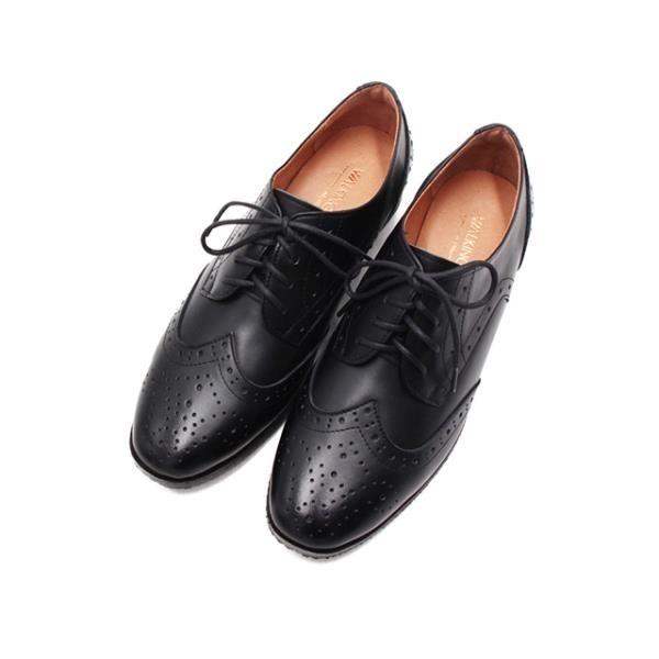 【南紡購物中心】WALKING ZONE (女)嚴選壓雕花牛津鞋 女鞋 -黑(另有淺棕)