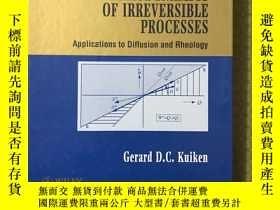 二手書博民逛書店thermodynamics罕見of irreversible