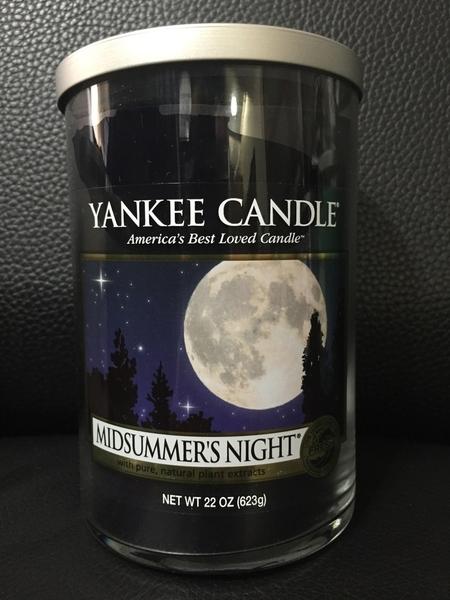 YANKEE CANDLE 香氛蠟燭 美國帶回 MIDSUMMER'S NIGHT