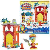 《 Play - Doh 培樂多黏土 》城市系列 - 消防隊遊戲組╭★ JOYBUS玩具百貨