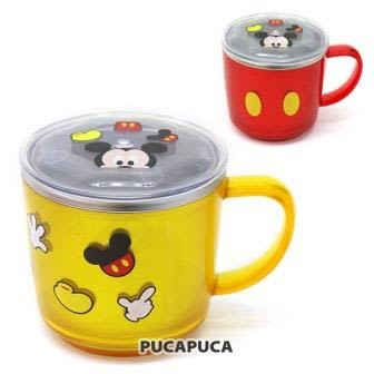 *妮好快樂*韓國直送 迪士尼米奇不鏽鋼水杯/學習杯附杯蓋(兩款)