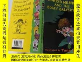 二手書博民逛書店Horrid罕見Henry and the Bogey Babysitter 可怕的亨利和那個可怕的保姆。Y2