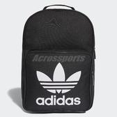【五折特賣】adidas 後背包 Classic Trefoil Backpack 黑 白 男女款 三葉草 基本款 【ACS】 DJ2170