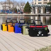 加厚釣魚水桶折疊釣魚桶垂釣用品防漏水  JL2234『東京衣社』tw