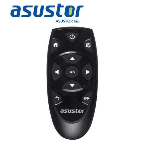ASUSTOR AS-3及AS-2系列 多媒體專用遙控器