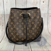 BRAND楓月 LOUIS VUITTON LV M44020 原花 NEONOE 肩背包