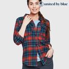 United by Blue 女格紋長袖襯衫 201-058 Fremont Flannel Button Down / 城市綠洲 (有機棉、環保、無化學物)
