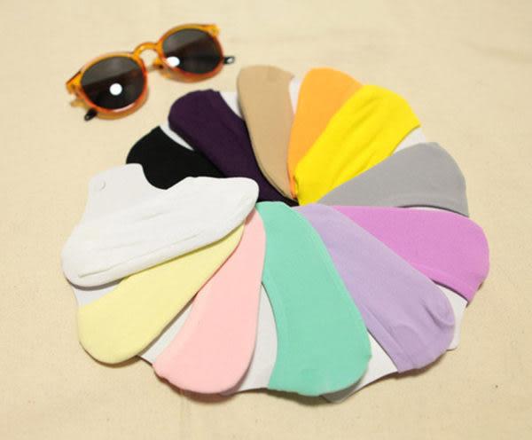 襪子   糖果色魔術襪 隱形短襪   【FSW001】-收納女王