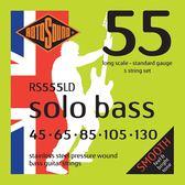 小叮噹的店 英國ROTOSOUND RS555LD (45-130) 五弦 電貝斯弦 不銹鋼 旋弦公司貨