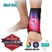 《晶宴》石墨烯 動力式熱敷墊 護踝 WDGH325