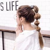 限定款假髮 韓系假髮馬尾 韓式俏皮燈籠馬尾 自然綁帶式馬尾假髮辮假髮