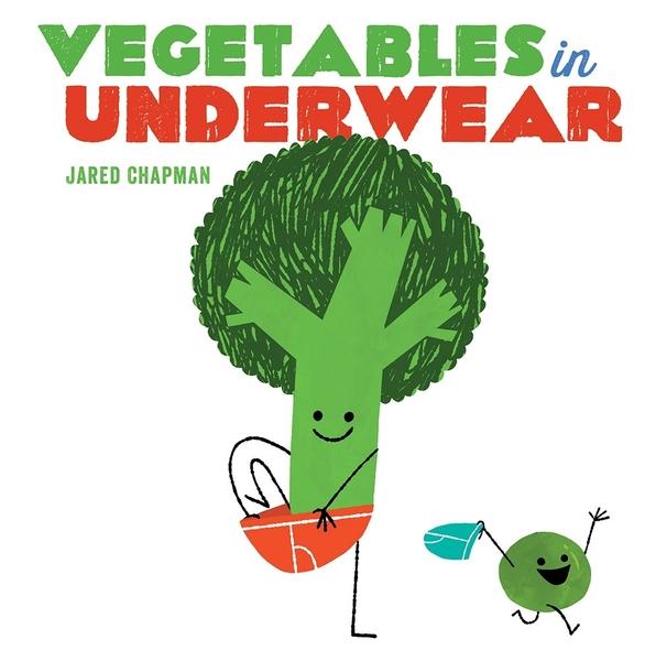 【麥克書店】VEGETABLES IN UNDERWEAR/硬頁書《戒尿布》