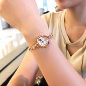 【好康618】潮流時尚韓版簡約休閒時裝女錶花朵石英手錶